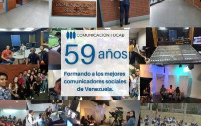 Comunicación UCAB celebró su 59 aniversario con un ciclo de conferencias en línea